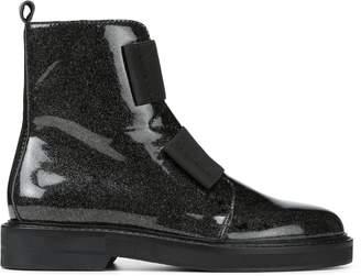 Donald J Pliner NORAA, Glitter Patent Leather Boot