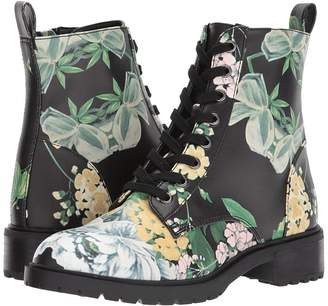 Steve Madden Officer Combat Boot Women's Lace-up Boots