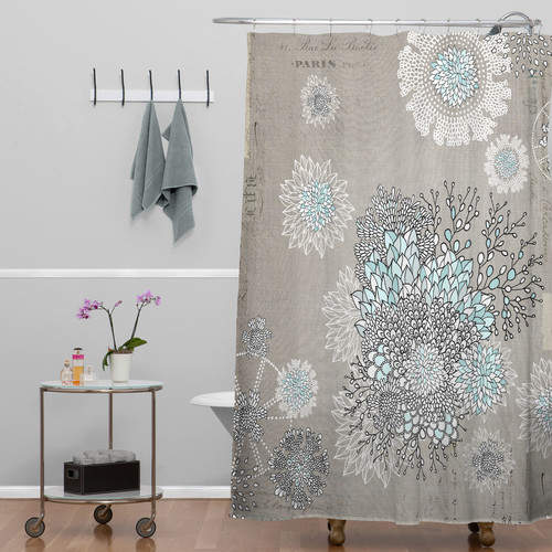 Bungalow Rose Holley Shower Curtain