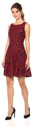 Tommy Hilfiger Women's Chrysanthemum Fit and Flare Dress