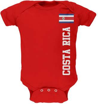 Old Glory World Cup Costa Rica Soft Infant Bodysuit - 9- months