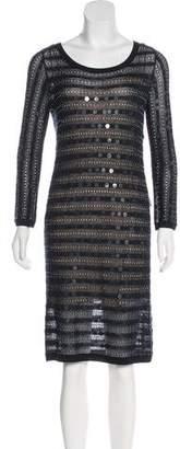 Zac Posen Silk Knit Dress