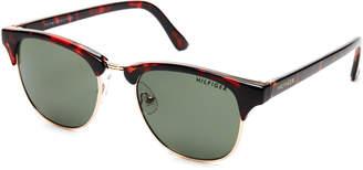 Tommy Hilfiger Tortoiseshell-Look Bryan Clubmaster Wayfarer Sunglasses