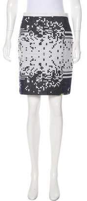 Lemlem Knee-Length Intarsia Skirt