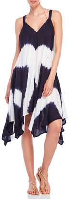 raviya Tie-Dye Handkerchief Hem Dress $54 thestylecure.com