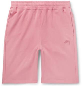 Stussy Stock Loopback Cotton-Jersey Shorts