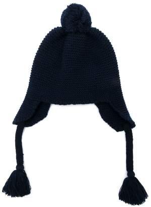 Il Gufo pom-pom knitted hat