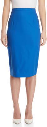 Les Copains Electric Blue Pencil Skirt