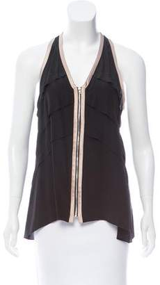 Ramy Brook Silk Tank Top