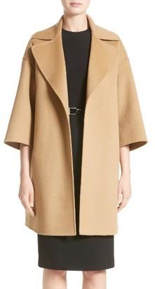 Women's Michael Kors Wool Blend Coat $2,695 thestylecure.com