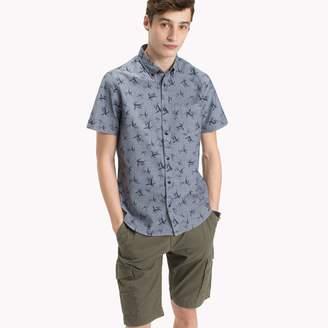 Tommy Hilfiger Bamboo Slim Fit Short-Sleeve Shirt