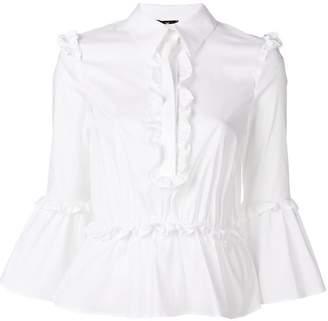Elisabetta Franchi classic ruffled shirt