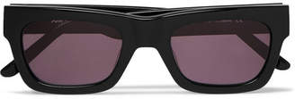 Sun Buddies Greta Square-Frame Acetate Sunglasses