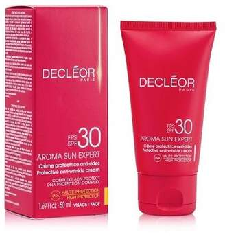 Decleor NEW Aroma Sun Expert Protective Anti-Wrinkle Cream High Protection SPF