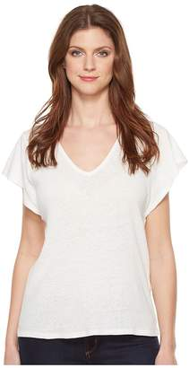 Lucky Brand V-Neck Tee Women's T Shirt