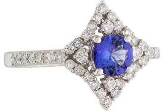 Ring 18K Tanzanite & Diamond
