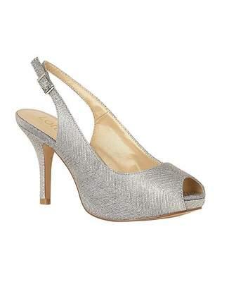 78831b2f832 Silver Peep Toe Shoes - ShopStyle UK
