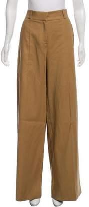 Oscar de la Renta High-Rise Wide-Leg Pants w/ Tags