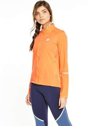 New Balance Speed Run Jacket - Orange