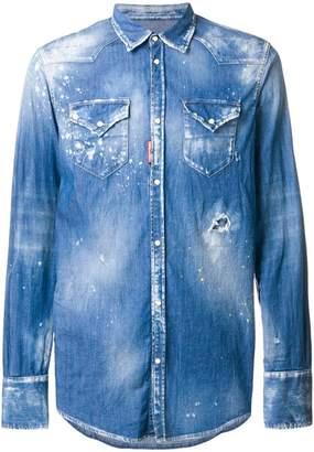 9bba31397b2 DSQUARED2 Denim Men s Shirts - ShopStyle