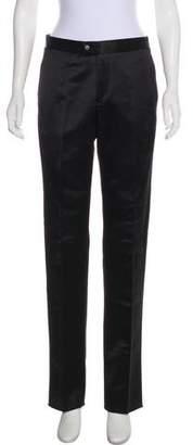 Yang Li Mid-Rise Straight-Leg Pants