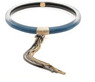 Alexis Bittar Skinny Tassel Bangle Bracelet