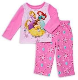 AME Sleepwear Baby Girl's Two-Piece Disney Pajama Set