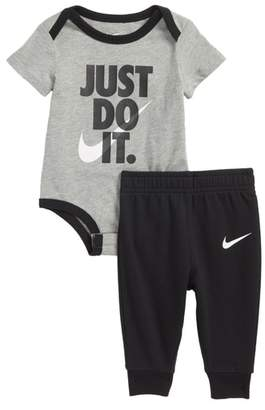 Nike Just Do It Bodysuit & Pants Set