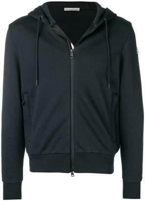 Moncler tri-stripe trim hoodie