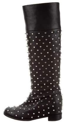 Christian Louboutin Meneboot Spiked Boots
