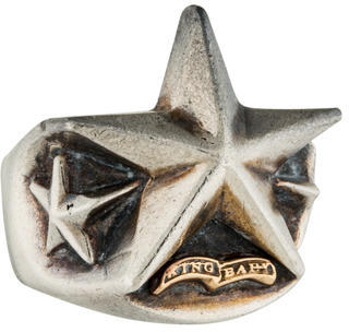 King Baby Studio Star Ring $225 thestylecure.com
