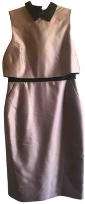 LK Bennett Pink Silk Dress for Women