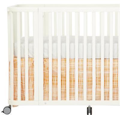 Argington Organic Crib Skirt- Plaid