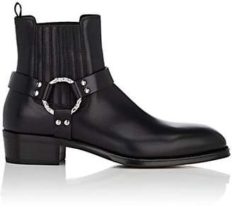 Alexander McQueen Men's Leather Chelsea Boots - Black