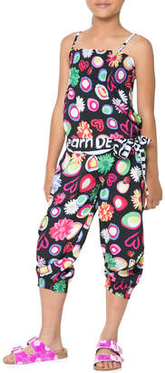 Desigual Hearts And Flower Jumpsuit