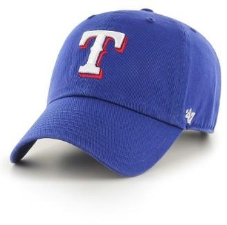 Women's '47 Clean Up Texas Rangers Baseball Cap - Blue $25 thestylecure.com