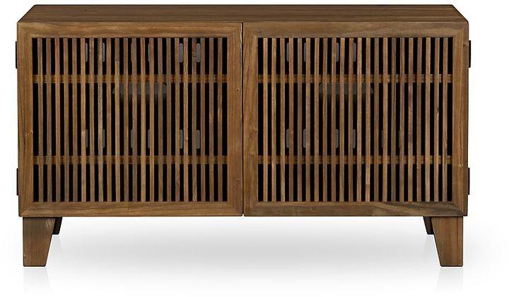 """Crate & Barrel Marin Natural 43"""" Media Console"""