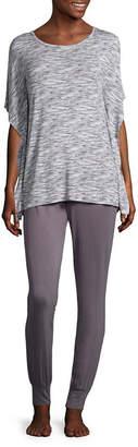 Ambrielle Poncho Top and Pant Pajama Set