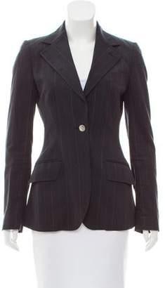 Dolce & Gabbana Structured Pinstripe Blazer