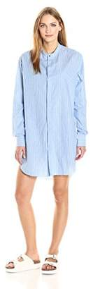 Baja East Women's Cotton Stripe Tshirt Dress