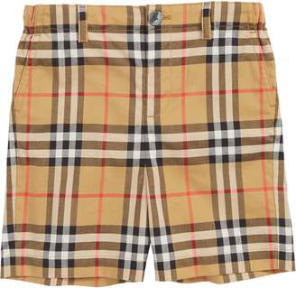 Burberry Sean Check Shorts