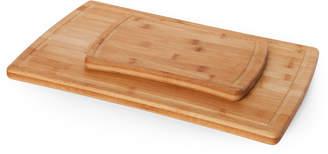 Farberware Two-Piece Bamboo Cutting Board Set