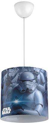 Star Wars Philips Stormtroopers Children's Ceiling Suspension Light, Requires 23 W E27 Bulb - Black
