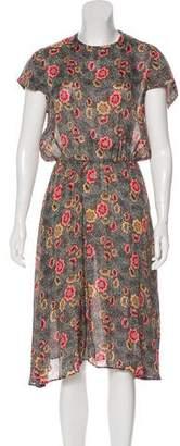 Etoile Isabel Marant Floral Midi Dress