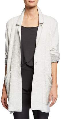 Eileen Fisher Textured Boxy Jacket
