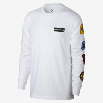 Converse Garage Patch Long Sleeve Mens T-Shirt