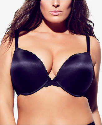 City Chic Trendy Plus Size Sabine Satin Push-Up Bra