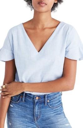 Women's Madewell Sundrift Ruffle Top $59.50 thestylecure.com
