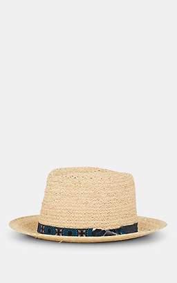5aa2f48fe72964 Albertus Swanepoel Men's Mangobe Straw Hat - Natural