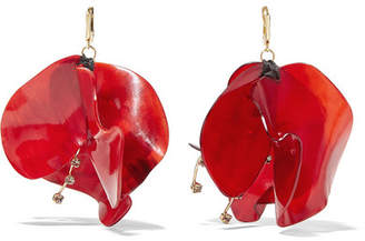 earrings drop ch de crystal es jasmine red carolina item en herrera